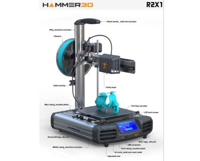 3D Printer design (toy approach)