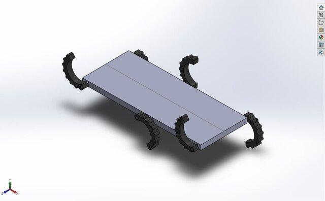 Bot walking mechanism
