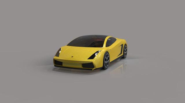 Lamborghini Gallardo (CATIA V5)