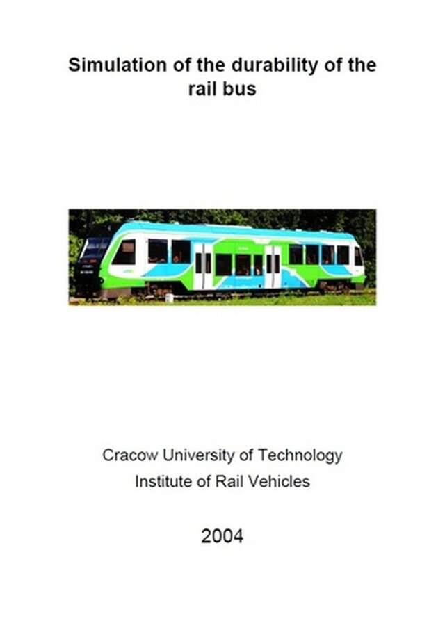 Simulation of the durability of the rail bus