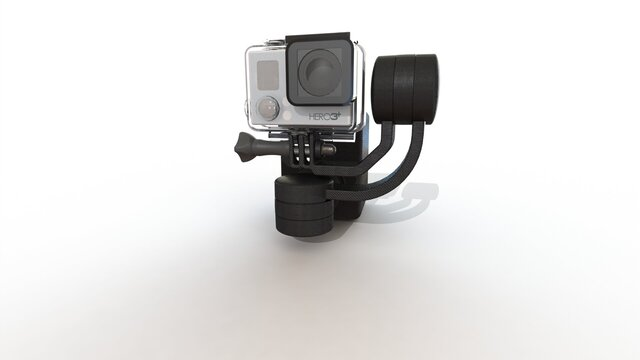 3 axis gimbal development project.