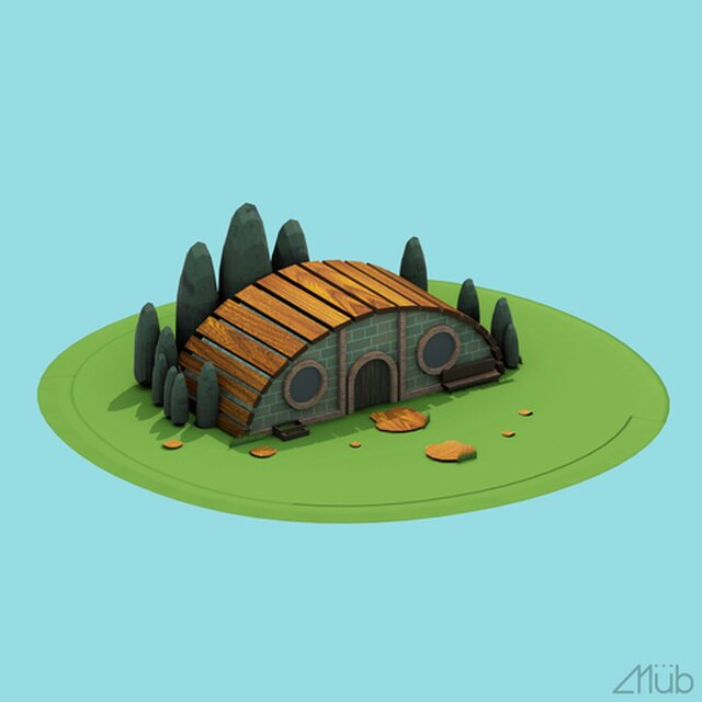 Lowpoly House