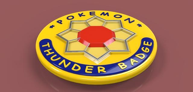 Pokemon Thunder Badge