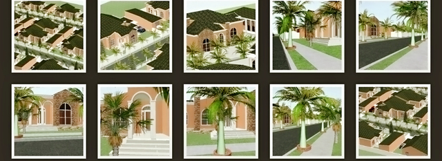 C.B realstate unit concept design