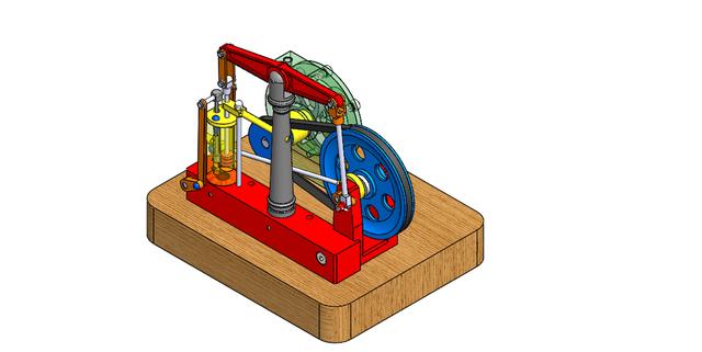 steam engine - solidworks