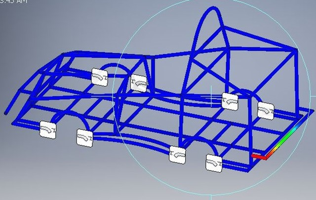 Analysis of solar car chassis