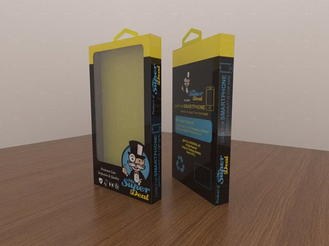 Mobile phone softcase packaging