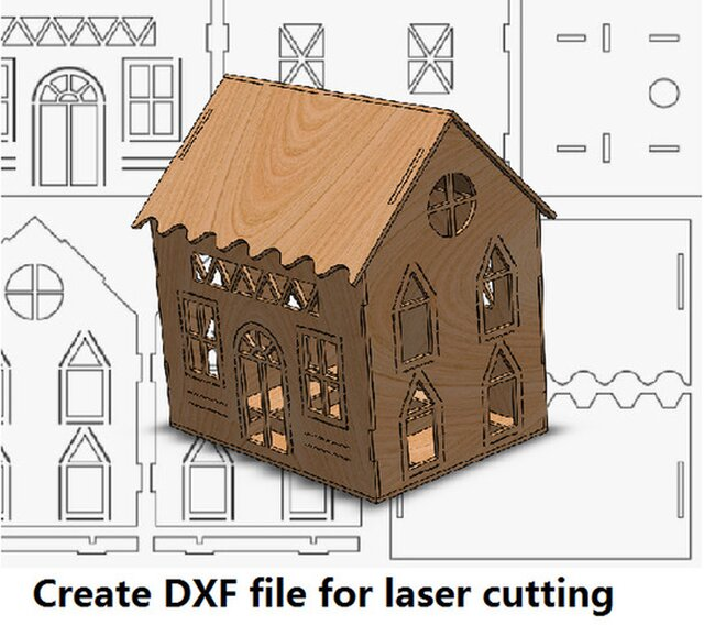 create vector files for laser cutting