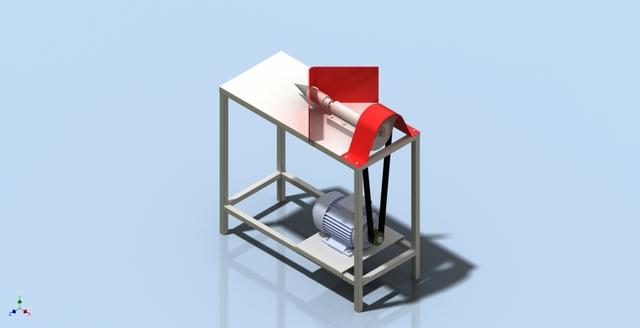 Machine for splitting wood