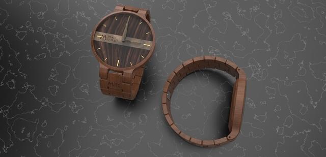 Wooden Watch Design