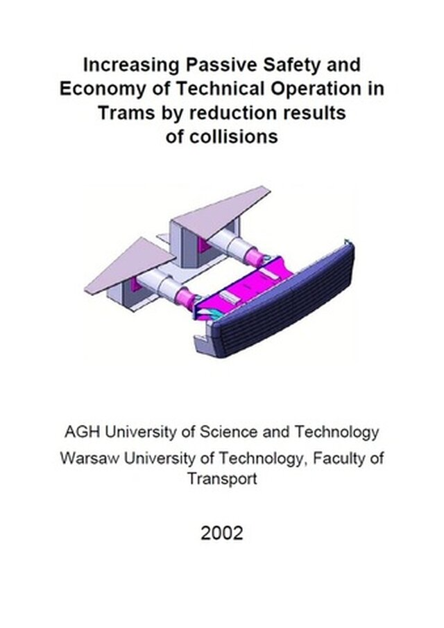 Increasing Passive Safety of Trams
