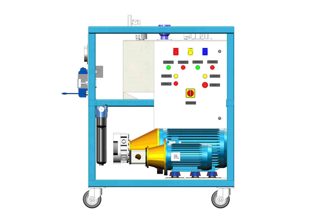 Hydraulic Testing Power Pack