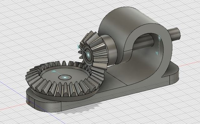 Gear, Assembly, Drafting