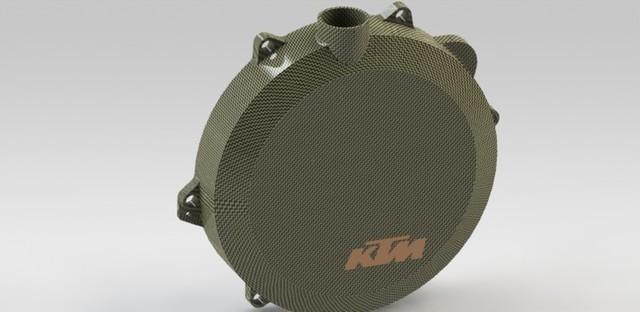 KTM Carbon Clutch cover