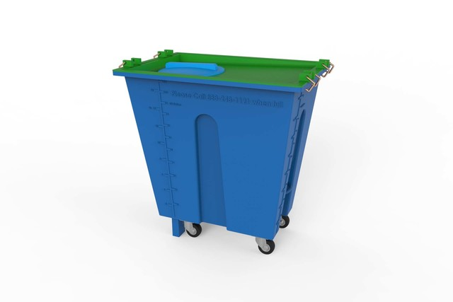 3D Modeling & CAD [Plastic Container]