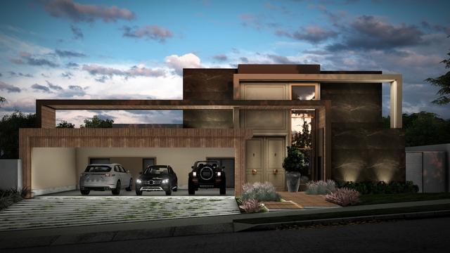 3D Render - House Facade
