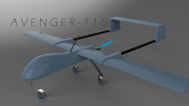 Avenger-716 UAVs.