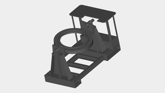 Test Benches Mechanical Structure