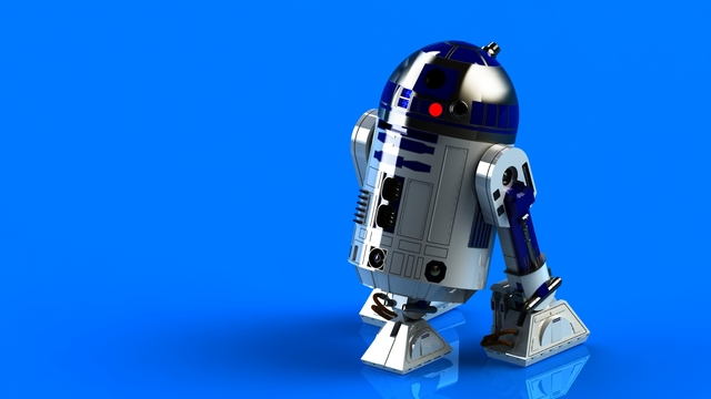 R2D2 1/4 Scale