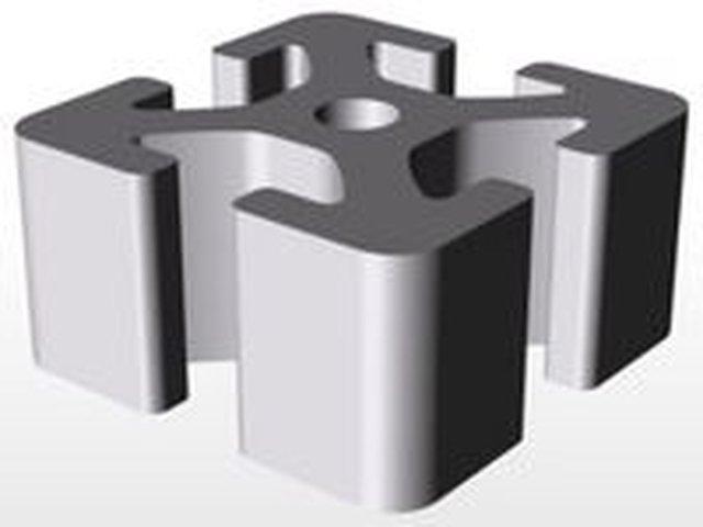 Aluminium Extrusion profile 40x40mm