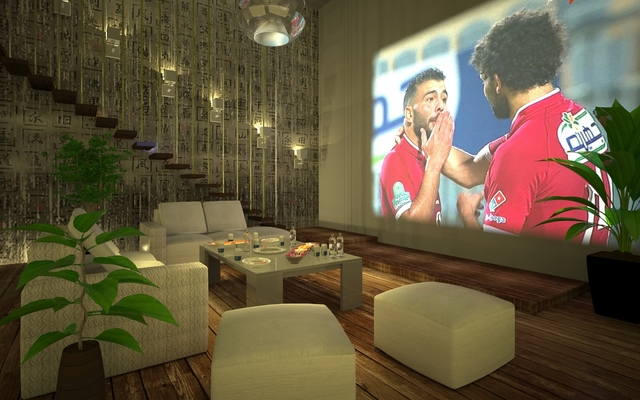 Villa Living Area With Data Show (Projector)