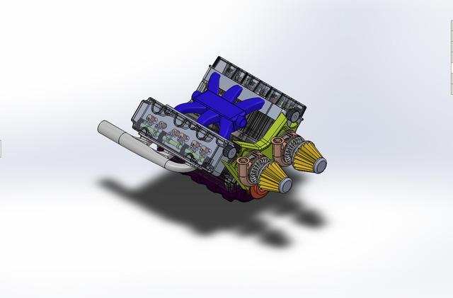 V6 internal combustion engine