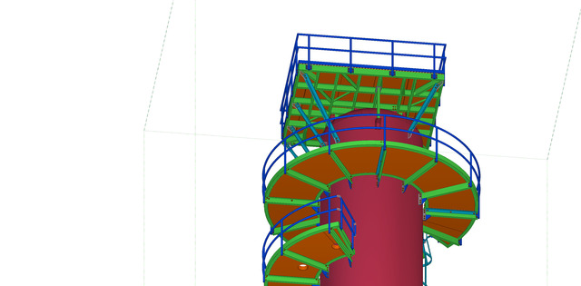 Stair Handrail design services Provide in COPL  at USA