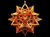 Star In Star Pendant