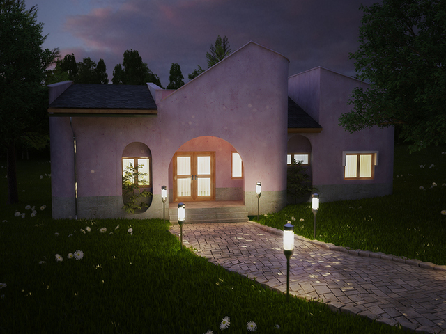 Bungalow (Architectural visualization)
