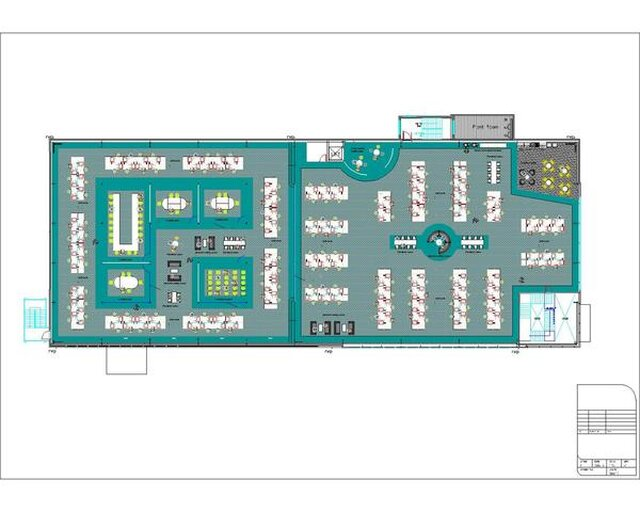 Office Space Plan