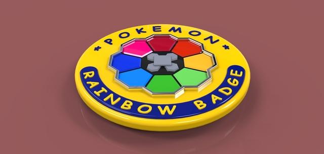 Pokemon Rainbow Badge