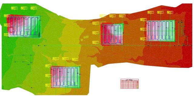 Land development and Vertical Structure Design