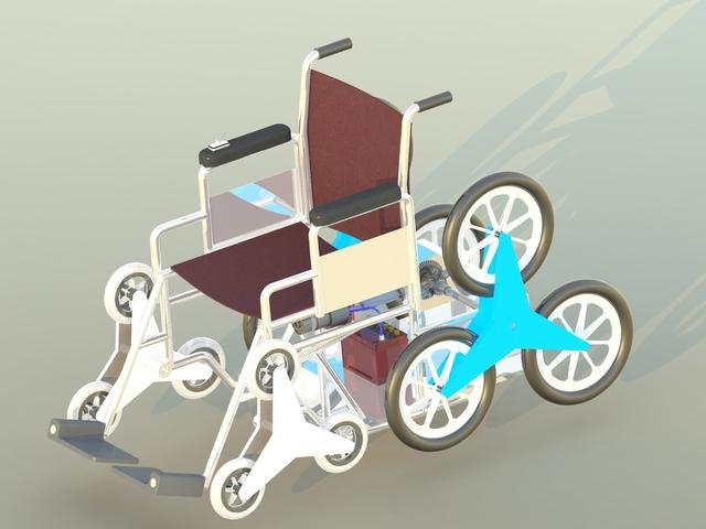 Stair Climbing Wheel Chair