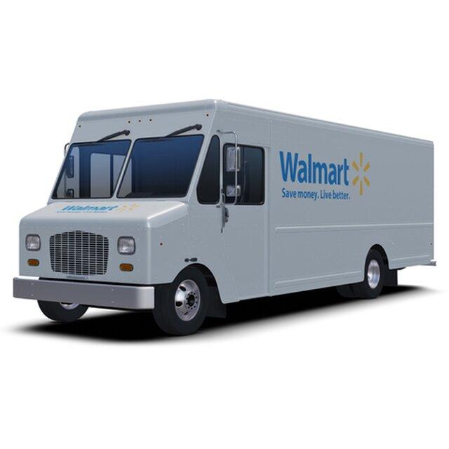 Walmart Delivery Step Van