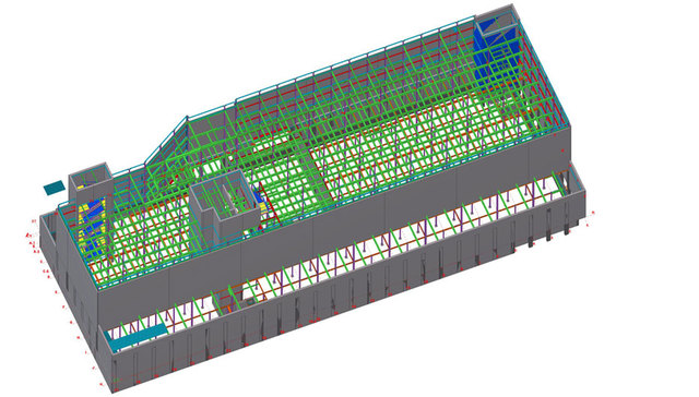 Steel Fabrication Shop Drawing Services Nashville ...
