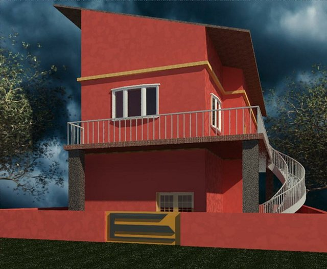 Residential House design 50'x 70'