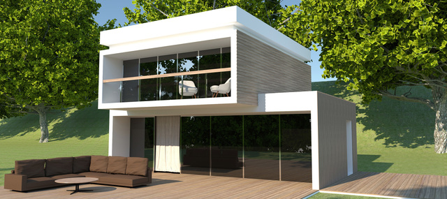 Residential House Exterior