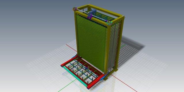 Sheet Metal Storage System 1500 X 3000 (5 x 10 ft)