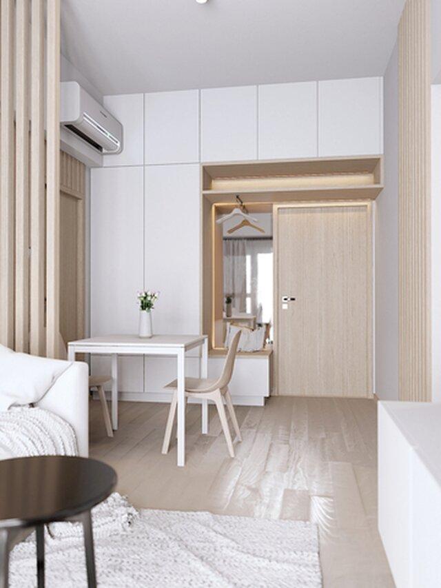 Design of small interior