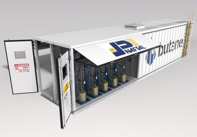LPG mobile station Naftal Dircsyou