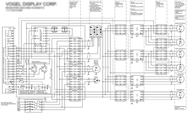 Machine schematic