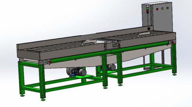 Automation gluing machine