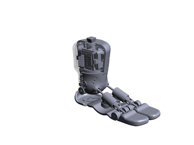 Microcontroller Foot Concept