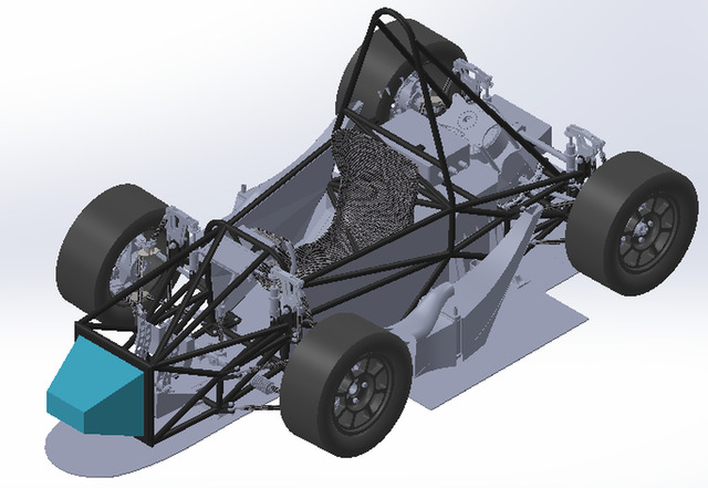 Development of a vehicle chassis for the Formula Student competition.