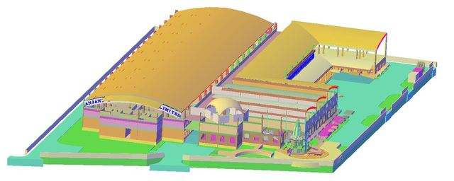 3D Modelling of MFG Plant
