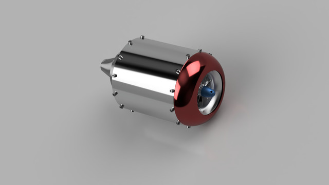 micro tubojet engine