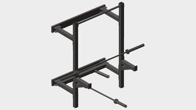 Weight Lighting Squat rack