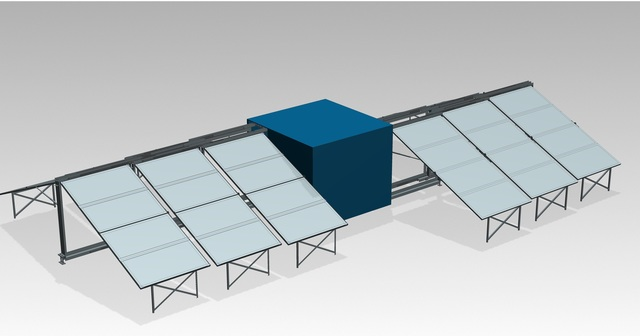 Portable Solar Power Container