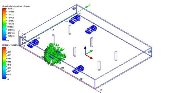 Smoke Extraction Analysis for Basement Car Park