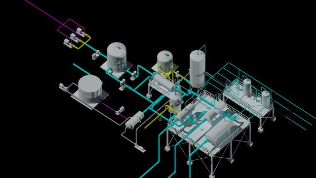 Petroleum Surface Separation Model